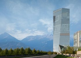 The Ritz-Carlton Almaty в Алматы по адресу Аль-Фараби проспект, 77/7